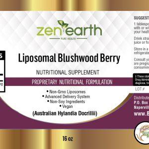 Liposomal Blushwood Berry Extract - Zen Earth 16 oz