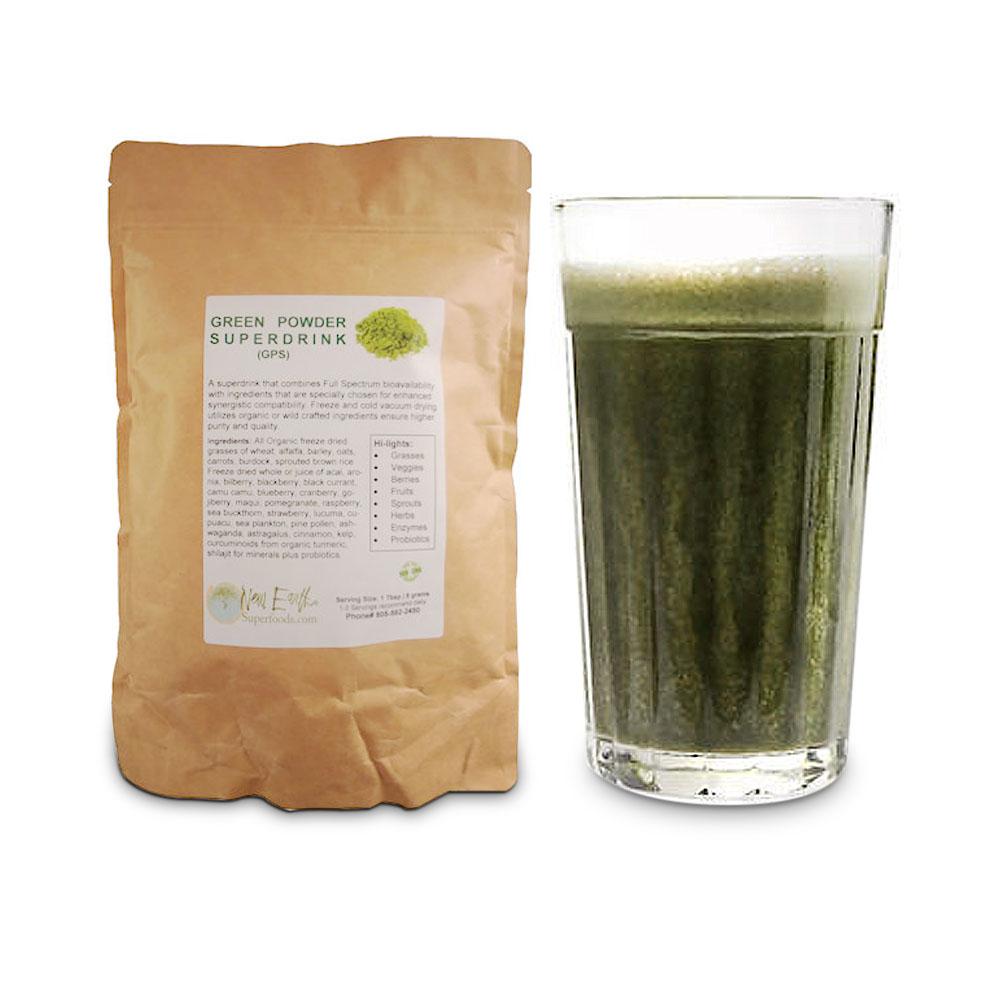 Green Powder Super Drink