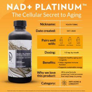 NAD+ Platinum™ - Quicksilver Scientific