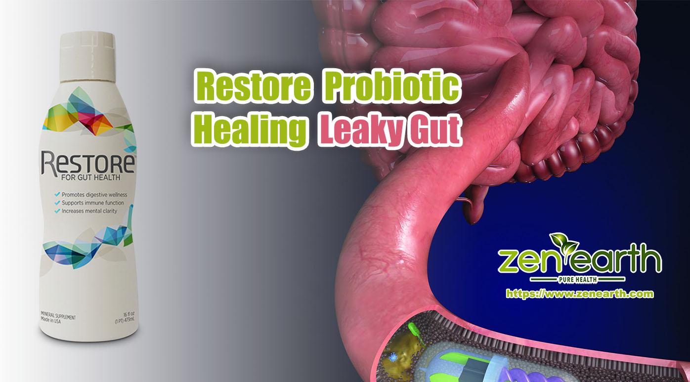 Restore Probiotic healing Leaky Gut