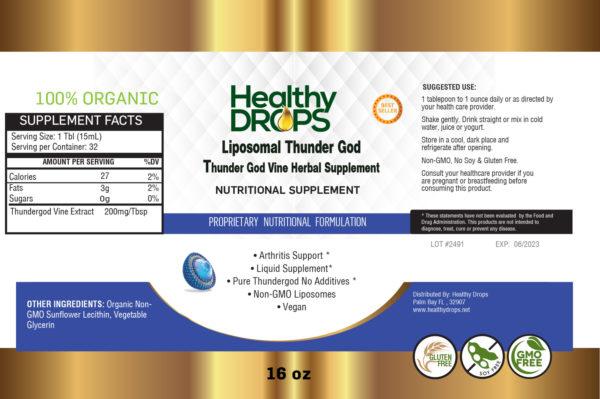 Thunder God Label Design